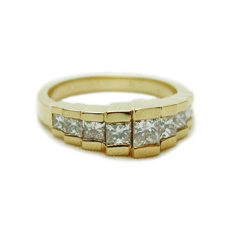 nl rings gold diamond in cut wg french pave white engagement with jewelry princess double effervescent halo ring