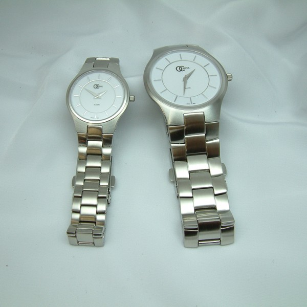 Ladies and Gent's Stainless Steel Watches featured