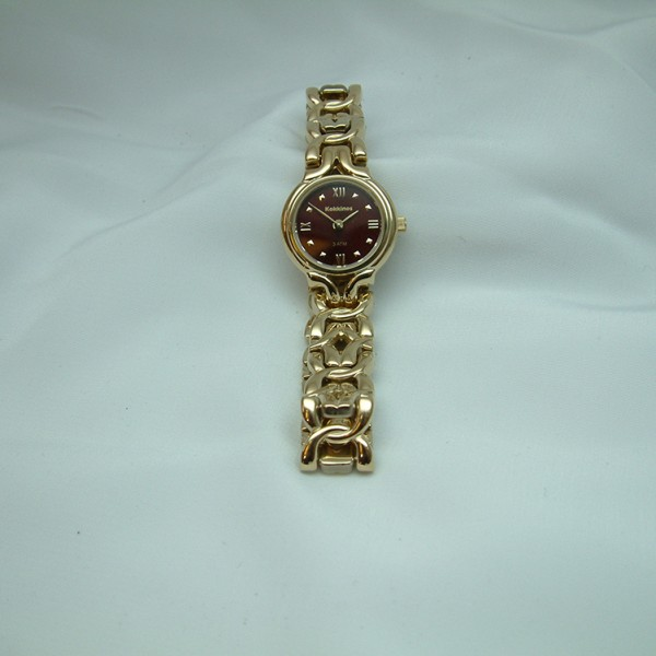 Ladies and Gent's Stainless Steel and 18K Yellow Gold  Watches feat
